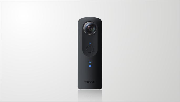 360-degree camera RICOH THETA