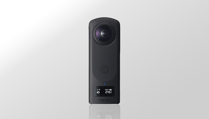 360-degree camera RICOH THETA